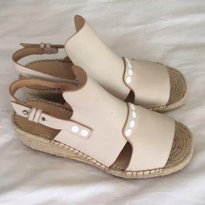 Rag & Bone Peep Toe wedge shoes